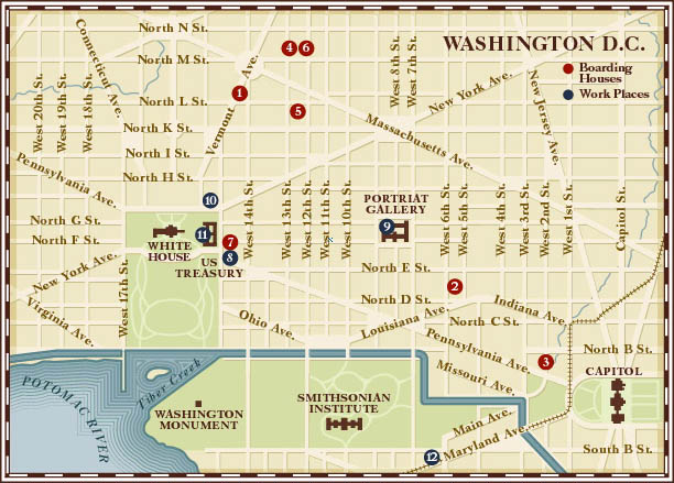 DC Walking Tour Map